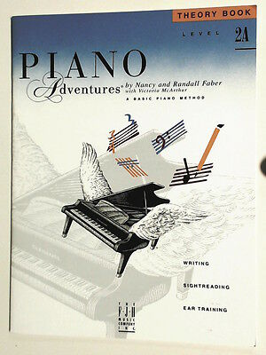 Piano Adventures Theory Book Level 2A by Nancy & Randall Faber. New-Old Stock