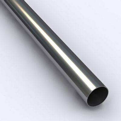 """1/2"""" OD Type 316/316L Stainless Steel Straight Tube (sold by the ft)"""