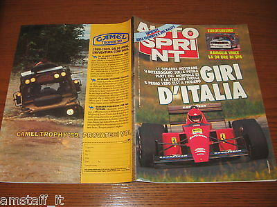 Autosprint 1988/31=Cover Ferrari=Supertest Sierra Cosworth/Peugeot 205 Rallye