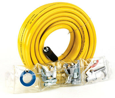 Trades Pro 3/8-Inch x 50-feet PVC Air Hose And Accessory Set - 835668