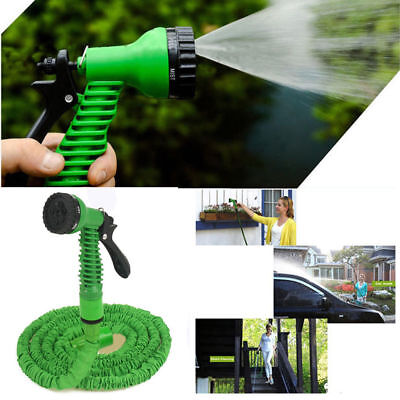 7.5M 25Ft Expandable Garden Gardening Water Hose Pipe with 7 in 1 Spray Nozzle