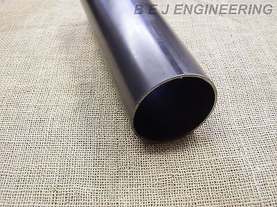 "Mild Steel Pipe 101.6mm (4"") x 3mm - 300mm long - Chimney?- Round Tube"