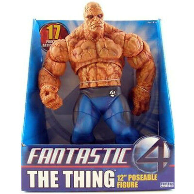 MARVEL 4 FANTASTICOS THE THING - LA COSA figura PVC 30cm de Toy Biz