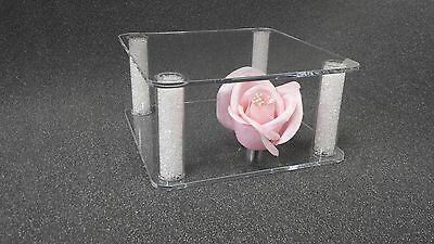 Large Square Acrylic Cake Separator Cake Topper Wedding Stand