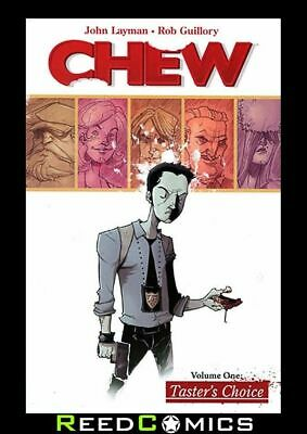 CHEW VOLUME 1 TASTERS CHOICE GRAPHIC NOVEL New Paperback Collects Issues #1-5