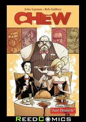 CHEW VOLUME 3 JUST DESSERTS GRAPHIC NOVEL New Paperback Collects Issues #11-15