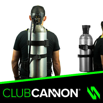 Club Cannon Co2 Tank Backpack for Cryo Co2 Cannon - C02 jet,Fog, Smoke, Spray!