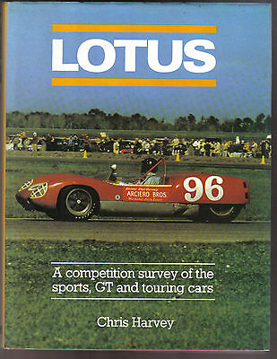 Lotus Competition Survey of Sports, GT & Touring Cars Colin Chapman Jim Clark +