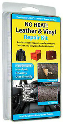 No Heat Liquid Leather & Vinyl Repair Kit Fix Holes Burns Rips Gouges Couche Car