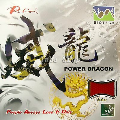 Palio Power Dragon (BIOTECH) Table Tennis Short Pips-Out Rubber with Sponge