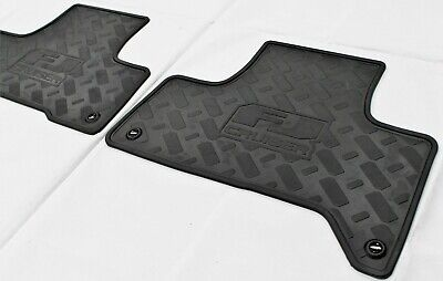 Toyota Fj Cruiser Floor Mats Rear Rubber From 2011 Gsj15 New Genuine Accessory