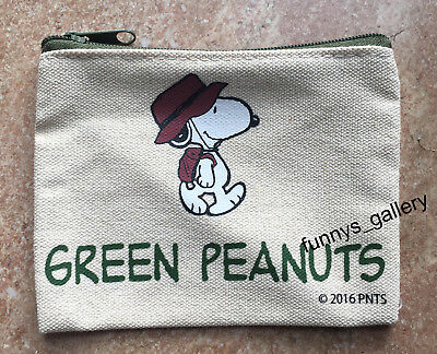 Peanuts Snoopy Zipper Coins Bag