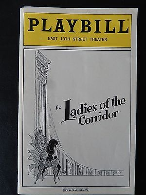 October 2005 - East 13Th St Theatre Playbill - Ladies Of The Corridor
