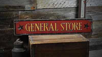 Personalized City State Sign Custom Shop Sign ENSA1001385 General Store Sign