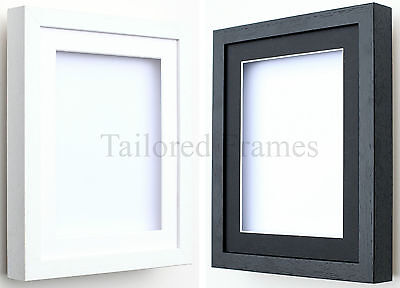 Shadow Box Frames 3d Deep In White And Black With Mounts For Medals