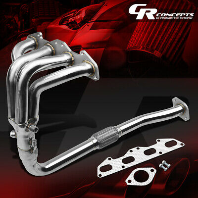 Stainless Steel Exhaust Header For 95-99 Eclipse/talon/avenger 2G 2.0 Nt/na 420A