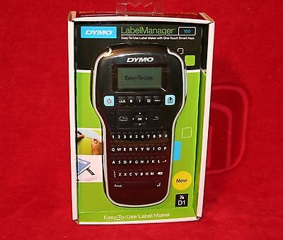 Brand New DYMO Label Manager 160 Hand Held Label Maker Printer - FAST SHIPPING
