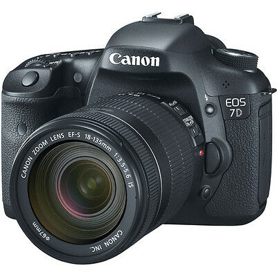 Canon EOS 7D Digital SLR Camera with EF-S 18-135mm f/3.5-5.6 IS Lens Kit!! New!!
