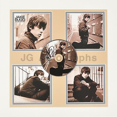 Jake Bugg - English Singer-songwriter - Authentic Autographed Showpiece Display