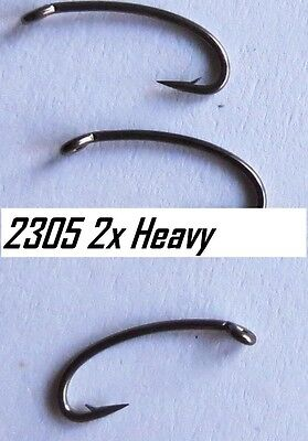 25) 2305 #14 2x heavy wire nymph hooks (extra strong version of the 2302)