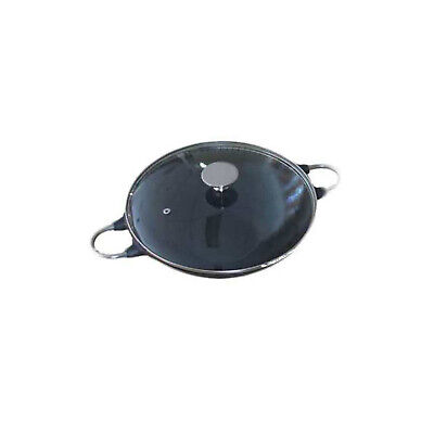 New BeefEater Cast Iron Wok Pot with Glass Lid