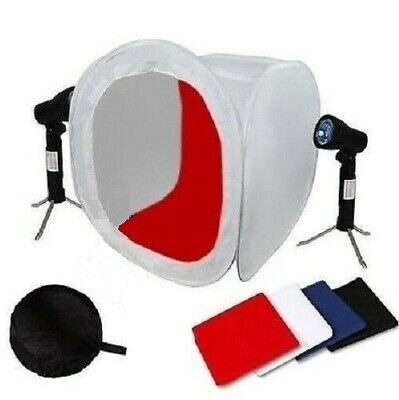 "16"" Photo Photography Tent Shooting Box Softbox Studio Kit Set with Light/Tripod"