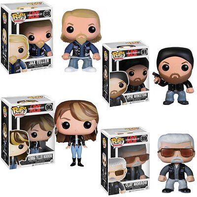 Sons of Anarchy SoA POP! Television #88 - #91 Vinyl Figur Funko