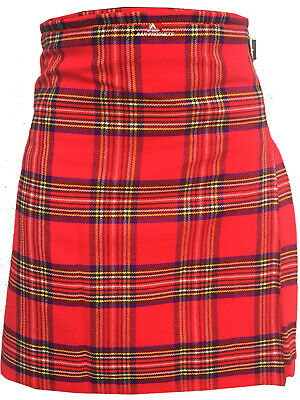 New Men's Scottish Royal Stewart Kilt 5 Yard Acrylic Highland Wear in all sizes