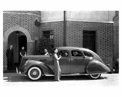 1936 Lincoln Zephyr Factory Photo uc6625