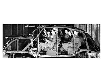 1936 Lincoln Zephyr Body Frame Factory Photo uc6619