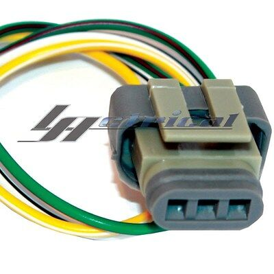 new repair plug harness pigtail connector 3 wire pin for 6g ford alternator repair plug harness 3 wire pigtail connector for ford mustang 3g 4g