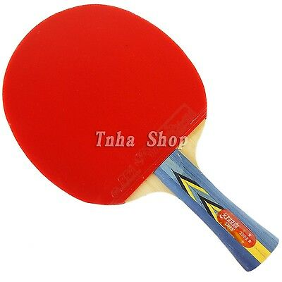 DOUBLE HAPPINESS DHS 3002 Long Handle Table Tennis Racket