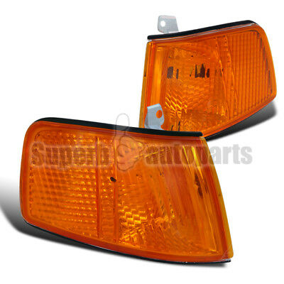 For 1990-1991 Honda CRX JDM Corner Lights Signal Lamps Amber