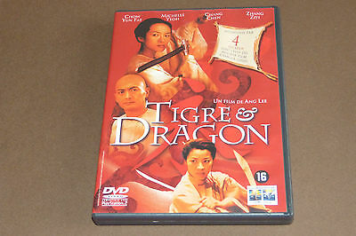 "Dvd ""Tigre & Dragon"" De Ang Lee, Michelle Yeoh, C. Yun Fat / 2000, Très Bon État"