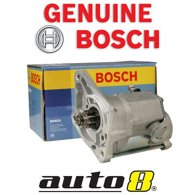 Genuine Bosch Starter Motor to Fit Mazda BT50 2.5L & 3.0L Diesel Turbo 2006-2011