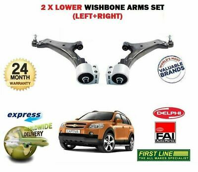 For Chevrolet Captiva 2007-2011 Left & Right Lower Suspension 2 Wishbone Arm Set