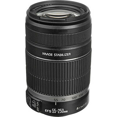Canon EF-S 55-250 mm f/4.0-5.6 IS II Telephoto Zoom Lens for Digital SLR Cameras