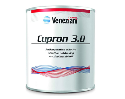 Antivegetativa Veneziani Cupron Plus 2,5 Lt Antifouling Paint