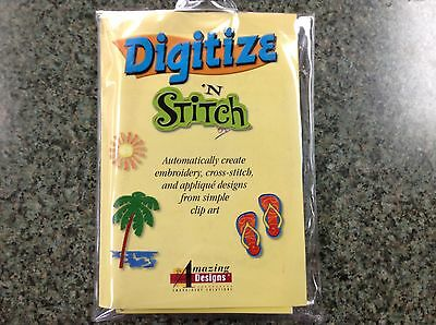 Digitize n' Stitch Applique' Digitizing Software Plus Bonus!
