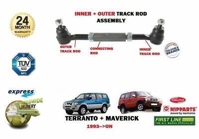 For Ford Maverick Nissan Teranno 2 1993-  New Inner & Outer Track Tie Rod End