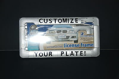 Diy - Customize Your Car License Plate - New