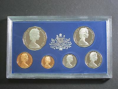 1976 Royal Australian 6 Coin Mint Proof Set Rare Low Mintage Excellent condition