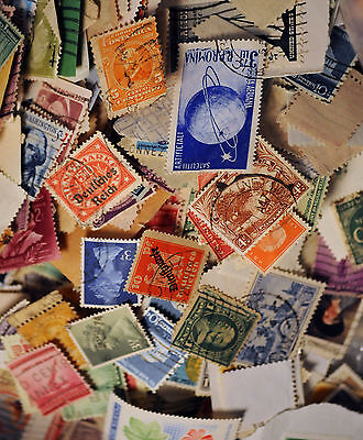 COLLECTION GREAT MIX LOTS OF100 STOCK OF WORLD WIDE POSTAGE STAMPS
