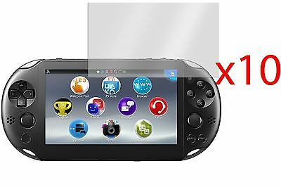 Hellfire Trading 10x Screen Protector Cover Guard for Sony PS Vita Slim 2000