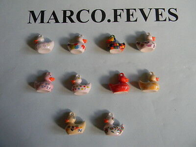 FEVE SERIE COMPLETE : CANARDS PENDENTIFS 2014 ( Bte B )