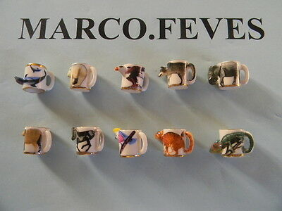FEVE SERIE COMPLETE : MUGS ANIMAUX 2012 ( bte 4 )