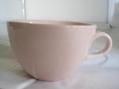 Rare Mid Century Arabia Finland Light Pink Coffee Cup