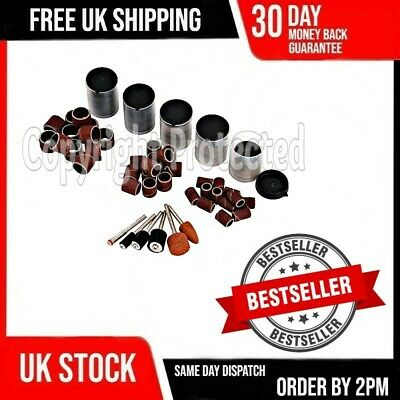 206Pc Rotary Drill Hobby Tool Accessory Sanding Kit Bits Fits Dremel Multi Tools