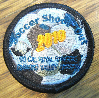 Soccer Shoot Out 2010 So Cal California Royal Ranger Uniform Patch