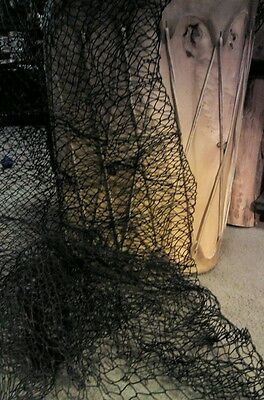 Fish Netting For Home Decor 5 Ft X 5ft -dark charcoal